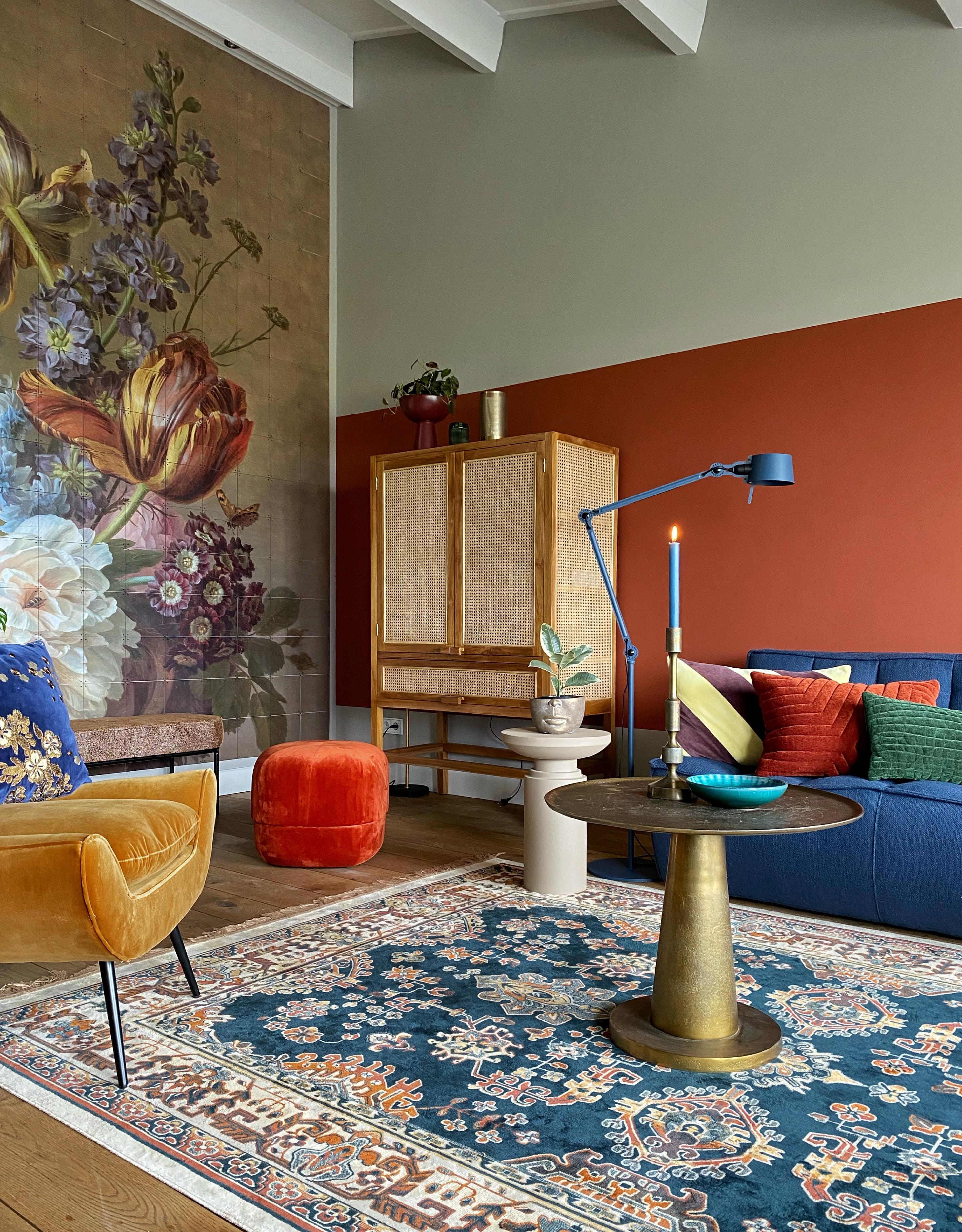 Dag Laatste Witte Muur In Huis Klaar Voor Kleur Met Flexa