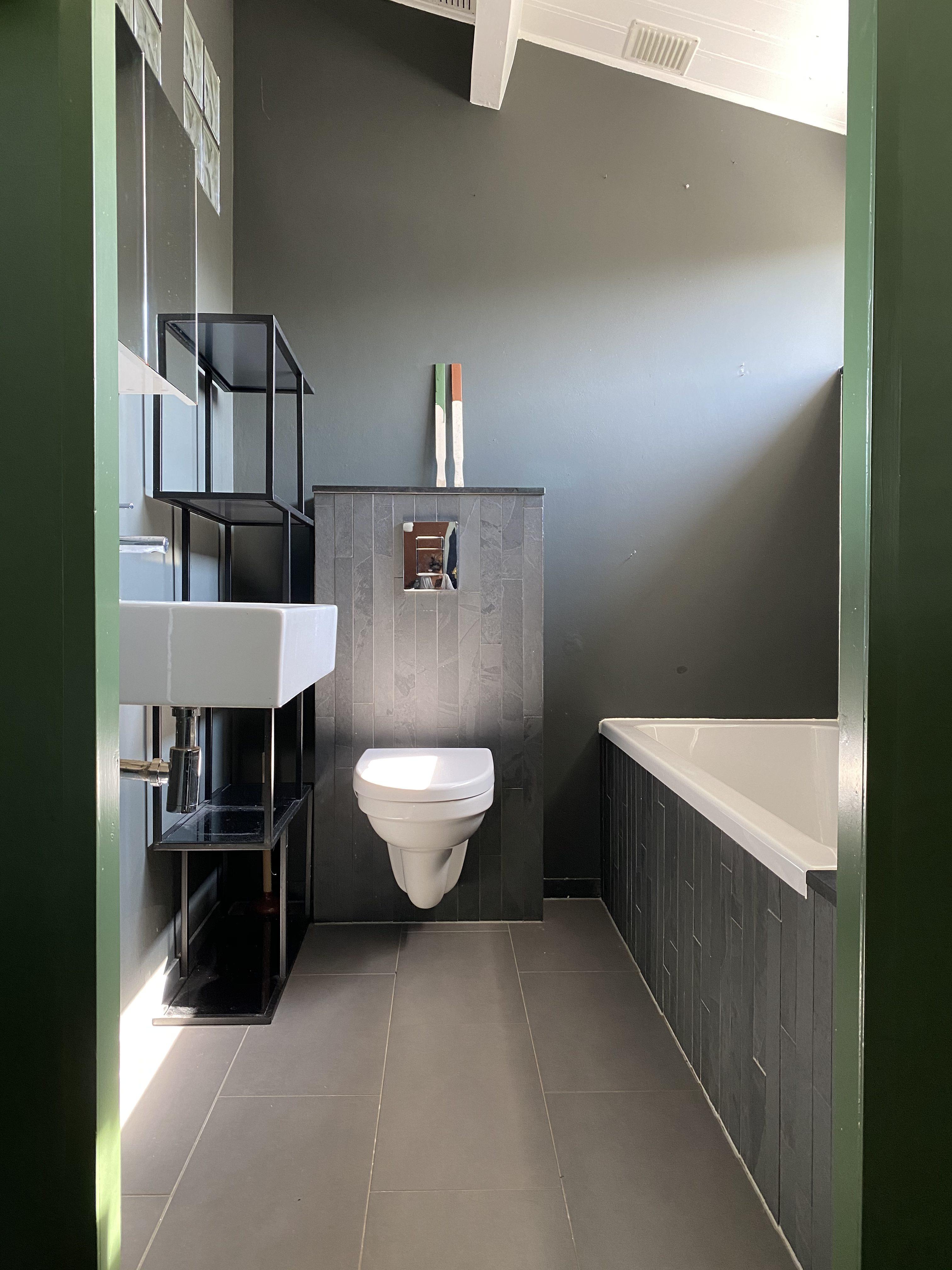Nog Meer Groen In De Badkamer Met Flexa